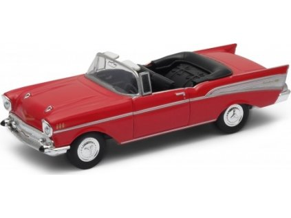 Welly - Chevrolet Bel Air ('57)1:34 modré