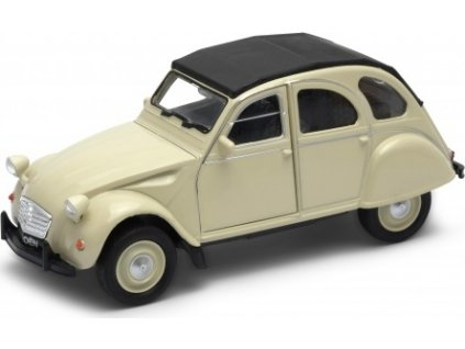 Welly - Citroen 2CV model 1:34 béžový