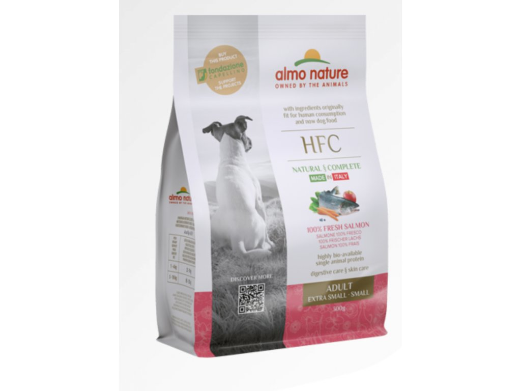 almo-nature-hfc-dog-xs-s-300g-granule-adult-losos-cerstvy-monoprotein