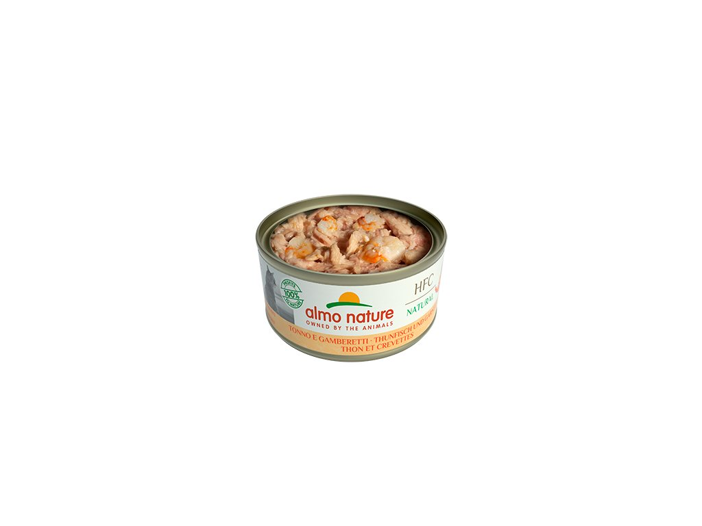almo-nature-hfc-natural-cat-filet-z-tuniaka-s-krevetami-150g