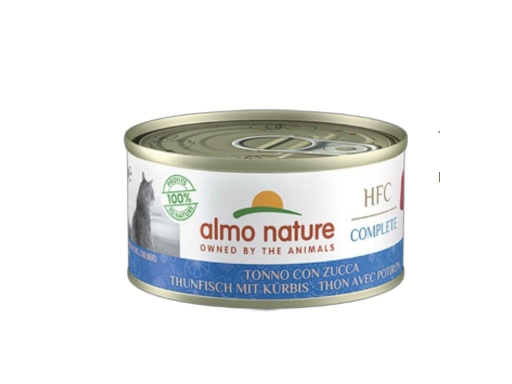 almo-nature-hfc-complete-cat-tuniak-s-tekvicou-70g
