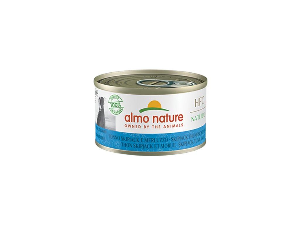 almo-nature-hfc-natural-dog-tuniak-pruhovany-a-treska-95g