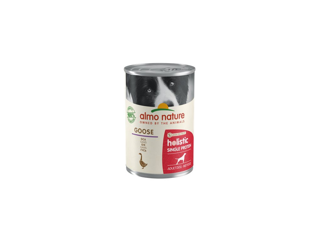 almo-nature-holistic-dog-monoprotein-husacie-masko-24x-400g