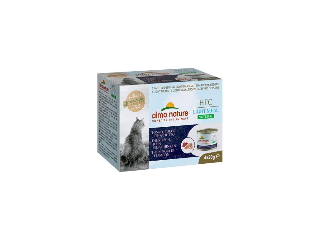 4x-50g-almo-nature-hfc-natural-light-meal-cats-tuniak-s-kuracinkou-sunkou-mega-pack