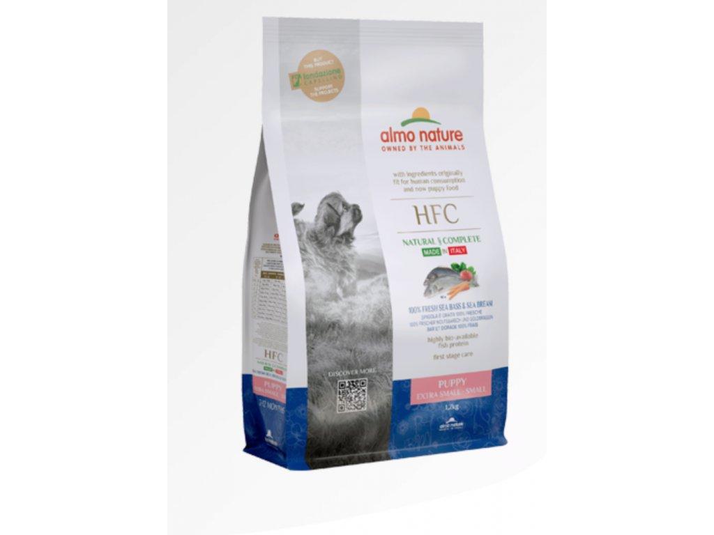 almo-nature-hfc-dog-xs-sgranule-puppy-cerstve-ryby-1-2kg