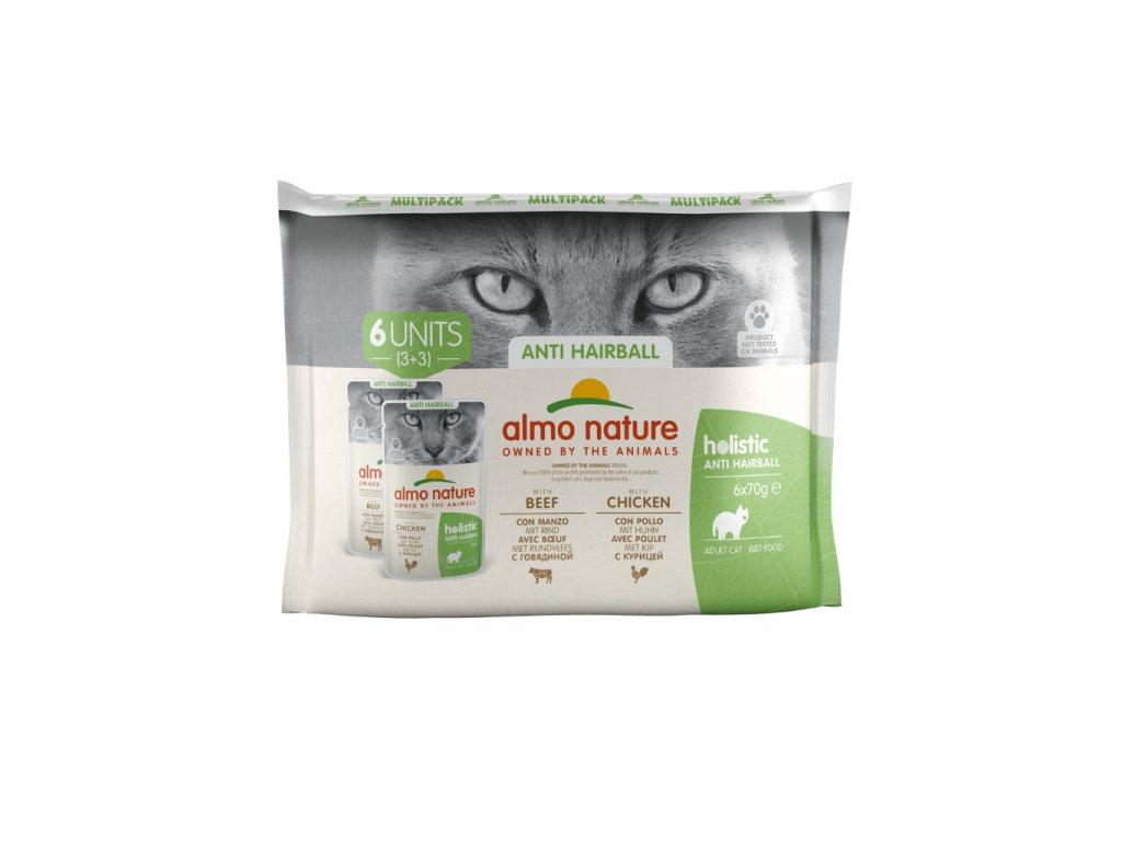 almo-nature-holistic-anti-hairball-cat-hovadzie-a-kuracie-6x-70g-multi-pack