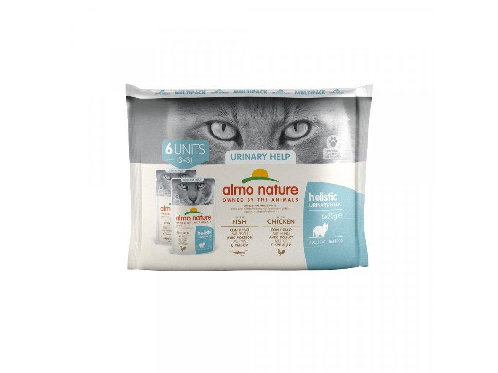 almo-nature-holistic-urinary-help-cat-ryby-a-kuracina-6x-70g-multi-pack