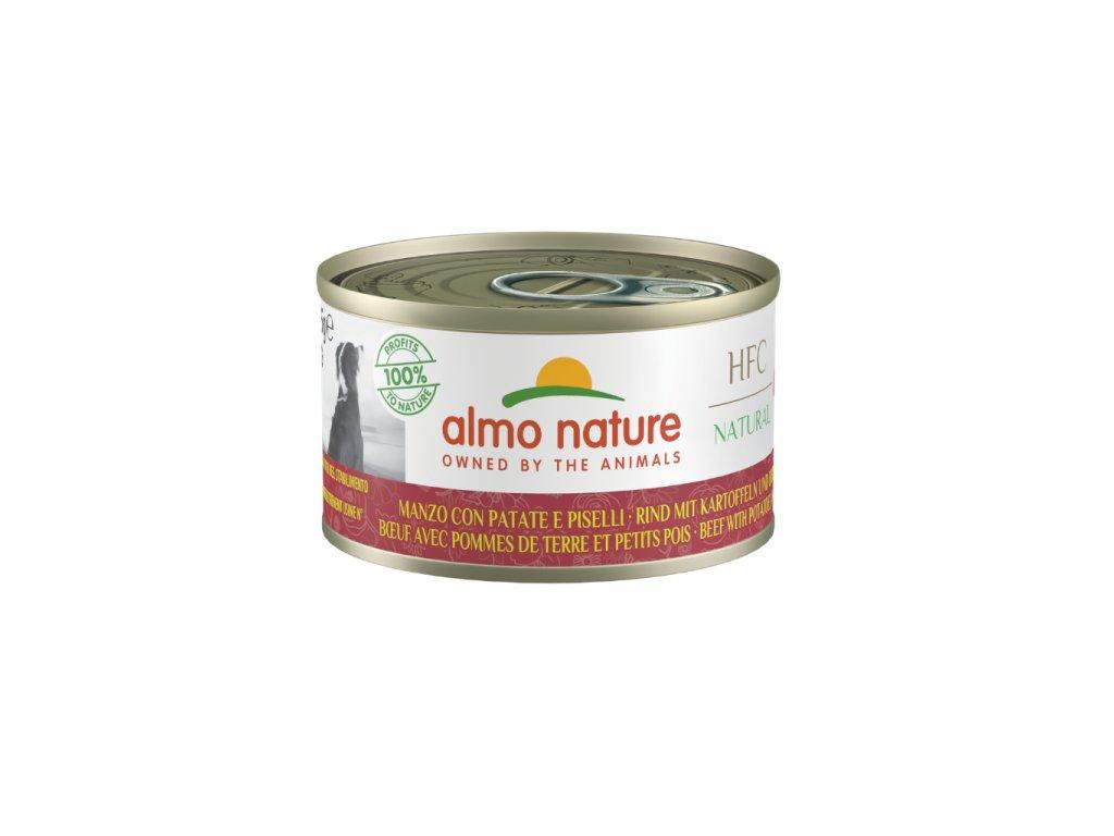 almo-nature-hfc-natural-dog-hovadzie-so-zemiakmi-a-hraskom-95g