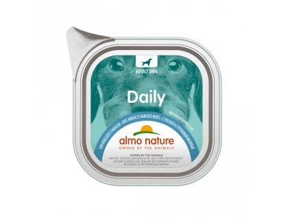 almo-nature-daily-dog-s-treskou-a-zelenymi-fazulkami-300g
