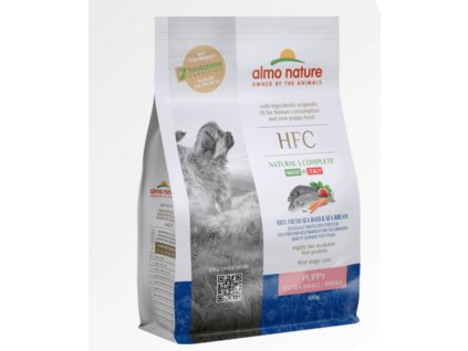 almo-nature-hfc-300g-granule-xs-s-puppy-cerstva-morska-ryba