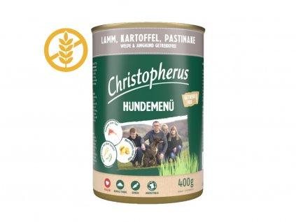 christopherus-hundemenu-junior-dog-s-jahnacim--zemiakmi-a-pastrnakom-400g