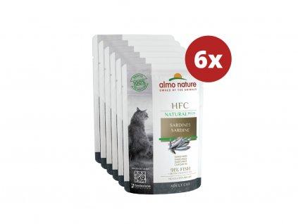 almo-nature-hfc-natural-plus-cats-sardinky-6x-55g
