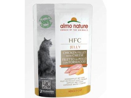 almo-nature-hfc-jelly-cat-kuraci-filet-so-syrom-6x-55g