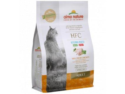 almo-nature-hfc-cat-adult-sterilised-granule-cerstve-kuracie-maso-300g