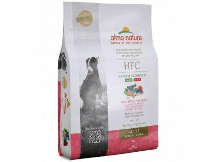 almo-nature-hfc-adult-dog-m-l-granule-cerstvy-losos-monoprotein-8kg