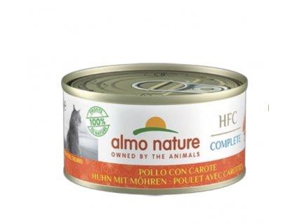 almo-nature-hfc-complete-cat-kura-s-mrkvou-6x-70g