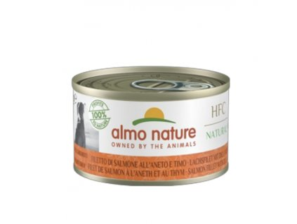 almo-nature-hfc-natural-dog-losos-s-koprom-a-tymianom-6x-95g