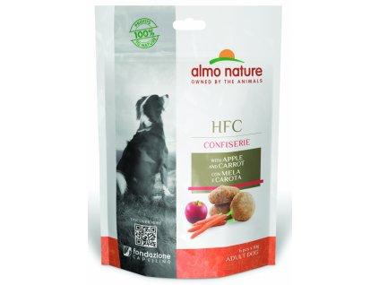 almo-nature-hfc-confiserie-dog-pochutka-jablko-a-karotka-60g