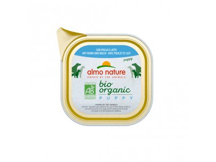 almo-nature-bio-organic-puppy-kuracinka-s-mliekom-100g