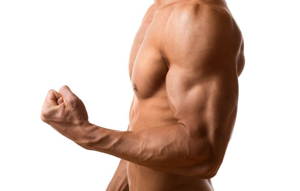 Podpora růstu svalové hmoty (růstový hormon)