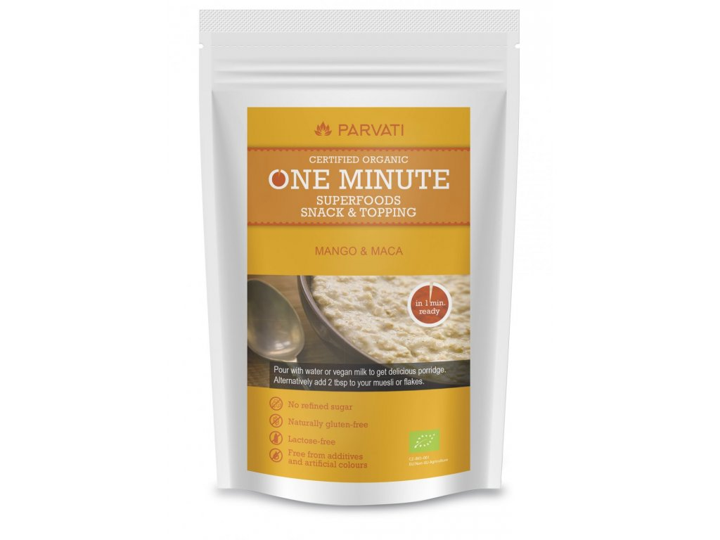 ONE MINUTE SNACK - MANGO & MACA