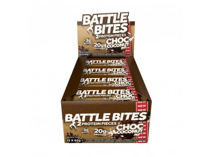 battle bites choc coconut box