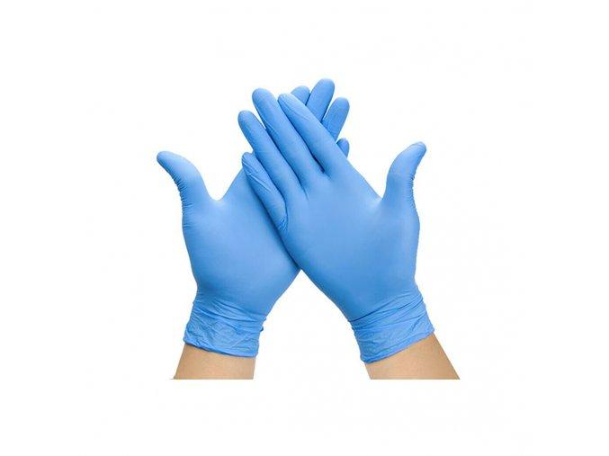 Nitrilové rukavice - 100 kusov veľkosť L