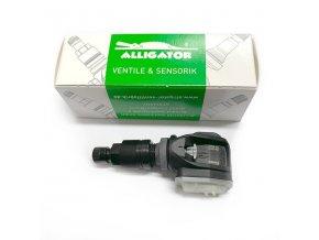 600 5370100 al 15 sens it one cerny senzor tlaku v pneu s alu ventilem 434 315mhz alligator VO086 A