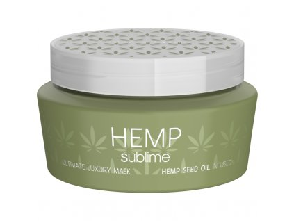ultimate luxury mask hemp seed oil infused 250ml