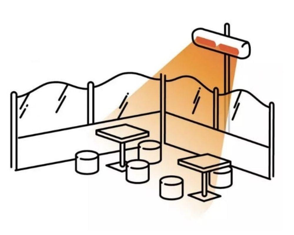 Výhody infrazářičů - ukázka instalace