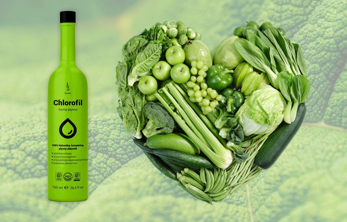 DuoLife Chlorofil zelenina