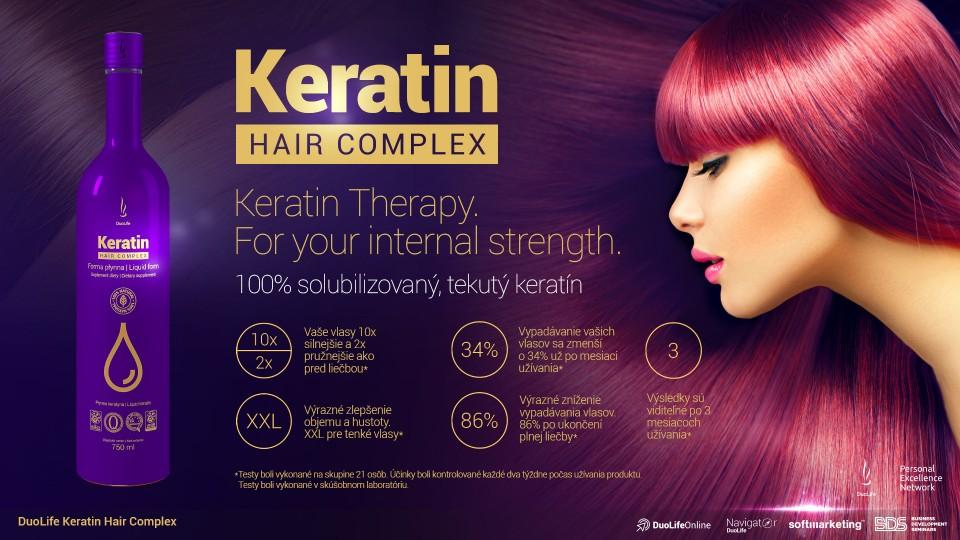 DuoLife Keratin Hair Komplex popis