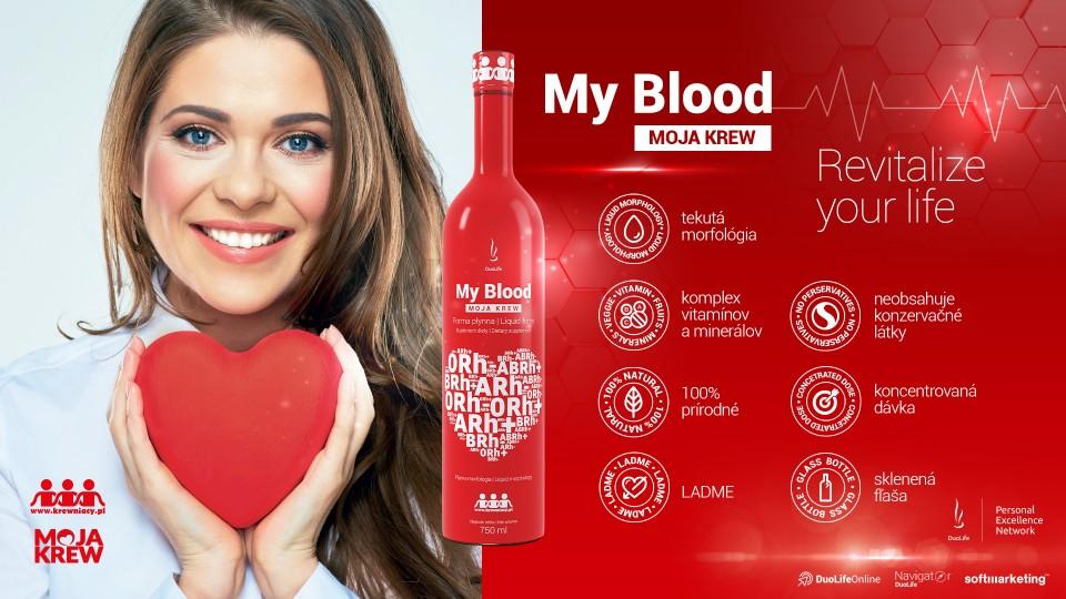 DuoLife Moja Krv popis