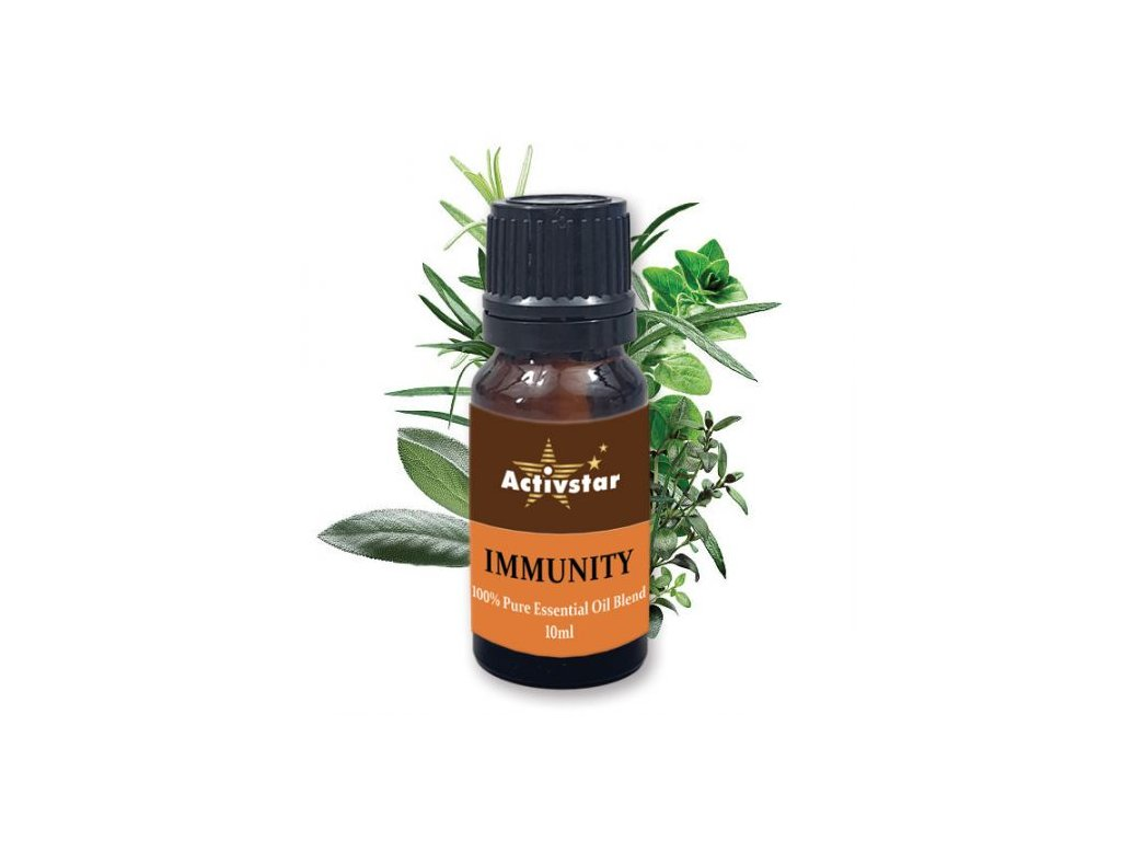 Zmes esenciálnych olejov imunita 10ml