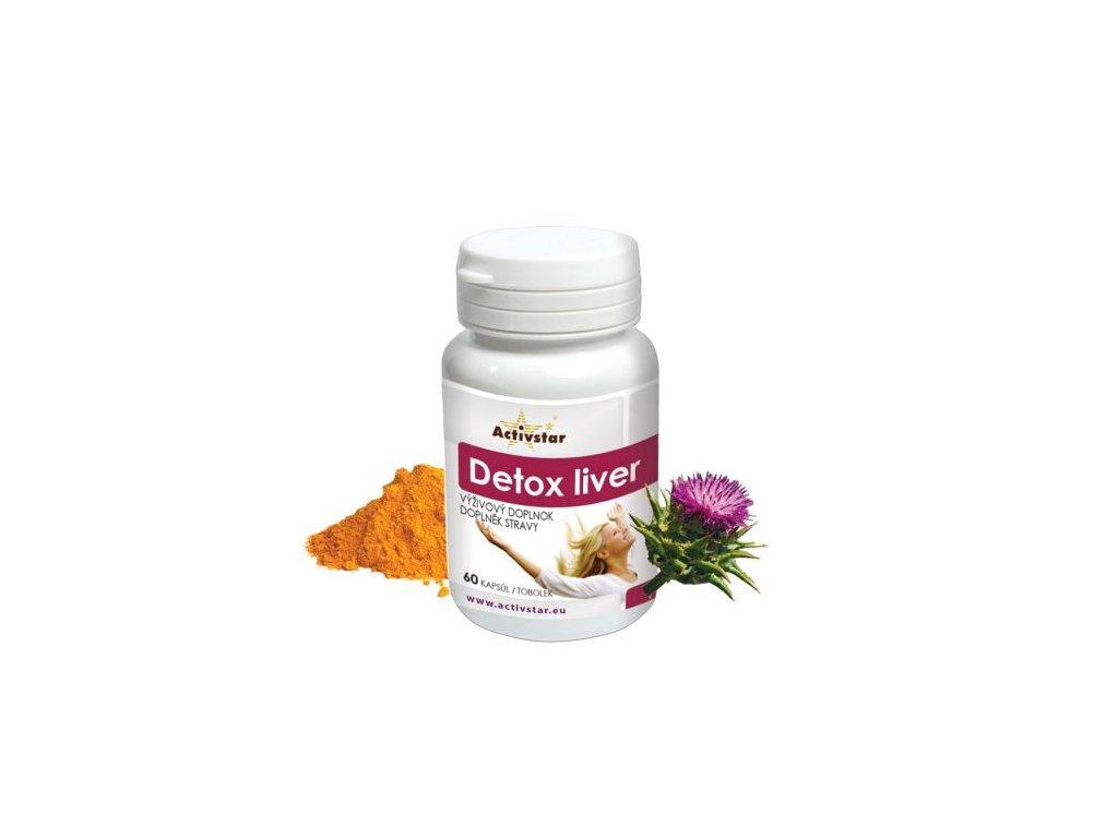 Detox liver 60 kapsúl