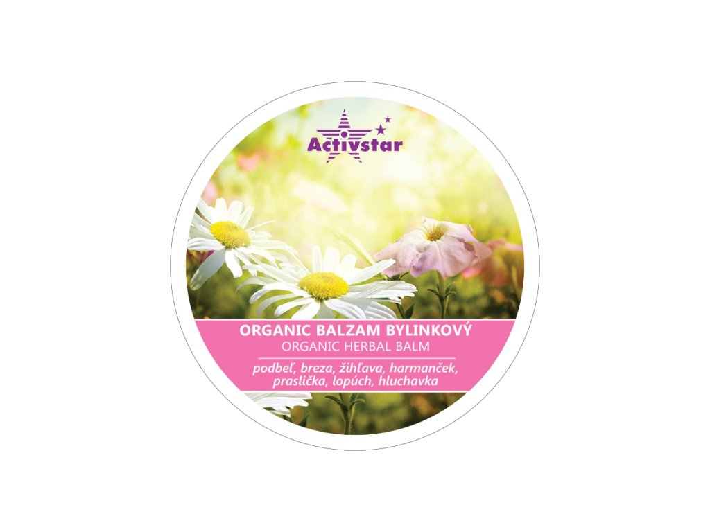 Organic balzam bylinkový