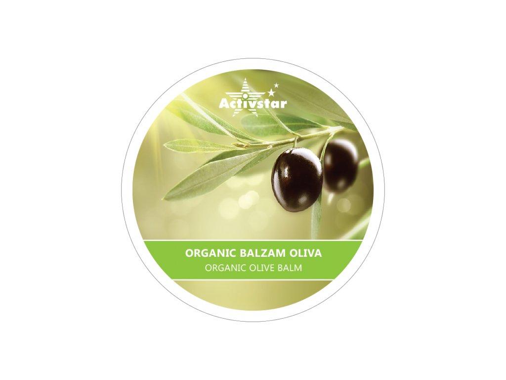 Organic balzam oliva