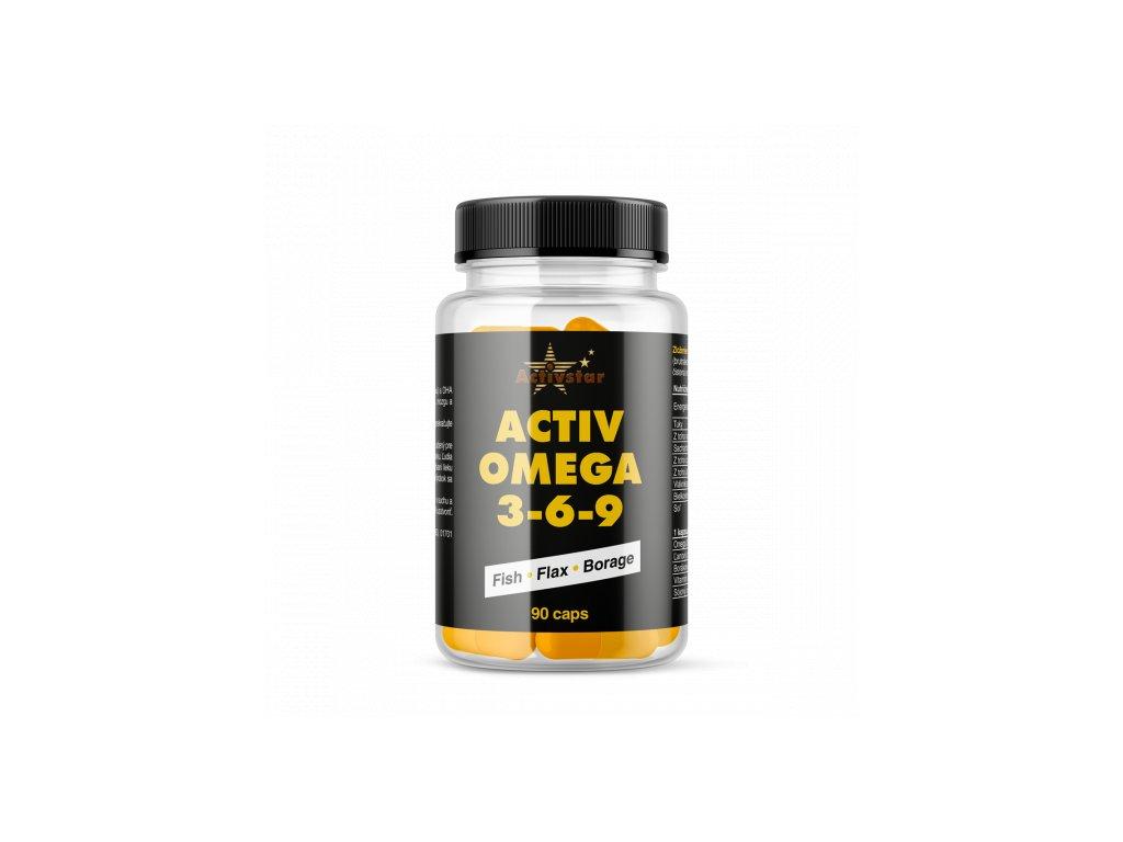 Activ Omega 3,6,9 - 90 kapsúl