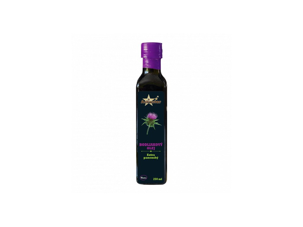 Activstar bodliakový olej 250ml