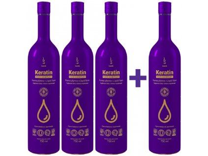 DuoLife Keratin Hair Complex 3+1 AKCIA