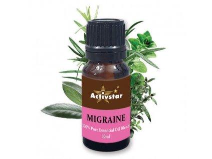 Zmes esenciálnych olejov migréna 10ml