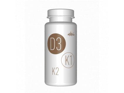 Activ D3,K1 a K2, 30 softgel kapsúl