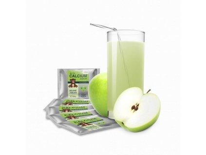 Activ calcium junior, zelené jablko, 5 sáčkov