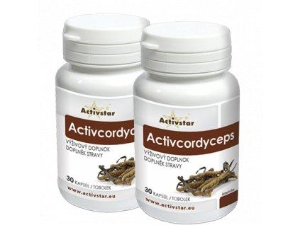 ActivCordyceps 30 + 30 kapsúl