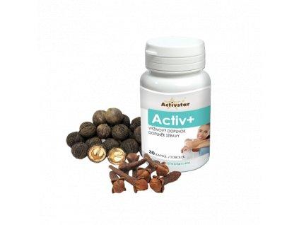Activ + klinček a orech, 30 kapsúl