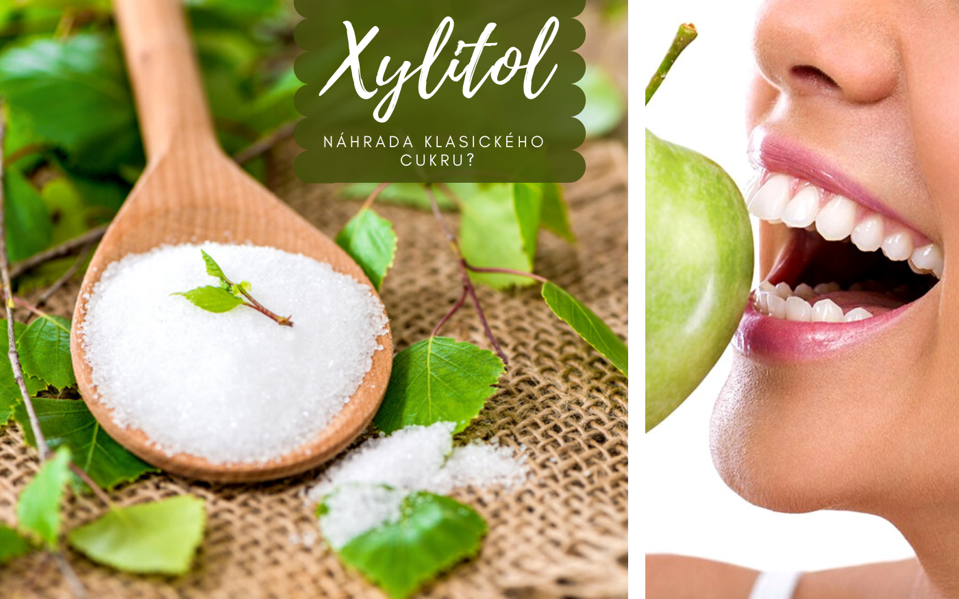 Xylitol - náhrada klasického cukru?