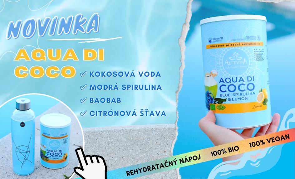 Rehydratačný nápoj Aqua DI COCO