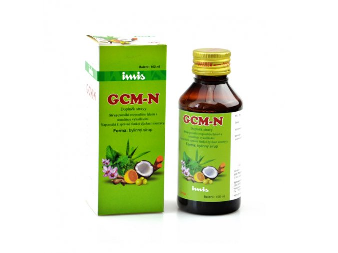 G.C.M. sirup proti kašľu, 100 ml