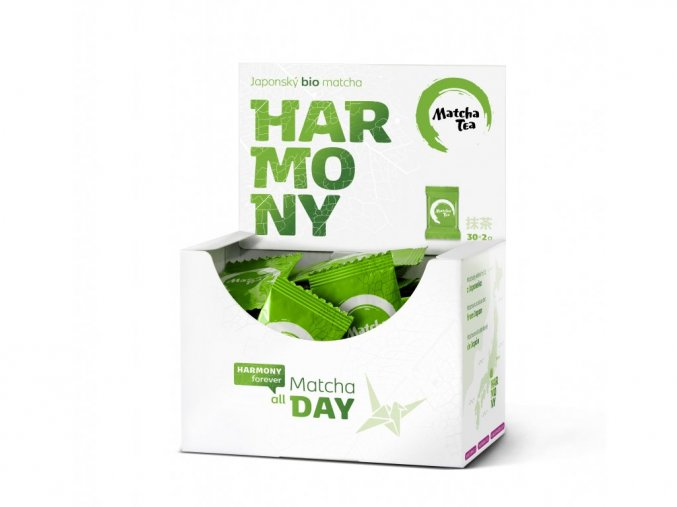 Kyosun Matcha Tea Harmony zelený čaj 30 x 2 g