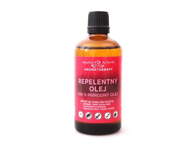 Altevita Repelentný olej - komáre, kliešte s esenciálnymi olejmi 100ml